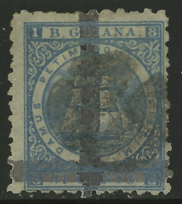 British Guiana  1878  Scott #  83  USED