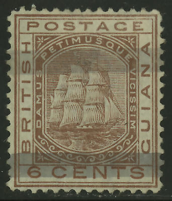 British Guiana  1878  Scott #  82  Mint Very Lightly Hinged
