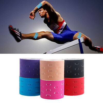 5m x 5cm Elastic Muscles Tape Sports Care Kinesiology Physio Therapeutic 1 Roll