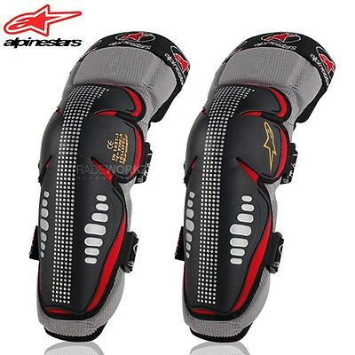 1 Pair ALPINESTARS Off-Rd Motorcycle Racing Motocross Knee Pads Protector Guards