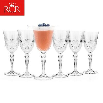 RCR 25601020006 Luxion Melodia Crystal Wine Glasses Set Of 6
