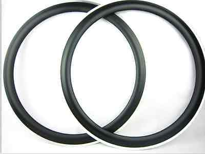 25mm width 50mm clincher carbon alloy bike rims 700C road bike use