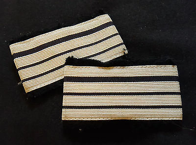 A0251 - Paire galons Gendarmerie Commandant GD - French Police Force stripes