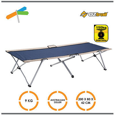 OZtrail Easy Fold Stretcher Single Bed Camp Cot Camping