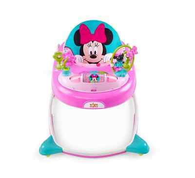 Disney Baby Minnie Mouse Walker Jumper Walking Play Toy Seat Learning Support