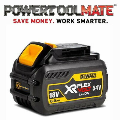DeWalt DCB546 18v/54v FLEXVOLT XR 6.0Ah Li-ion Battery Pack