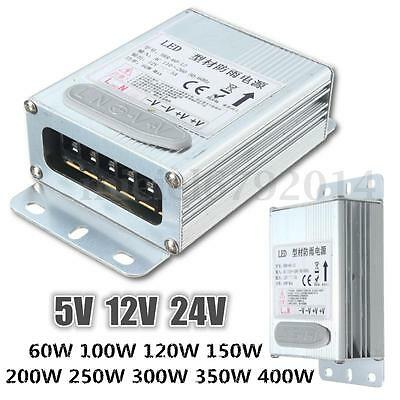 IP65 60/100/120/150/200/250/300/350/400W 5/12/24V Switching Power Supply Driver