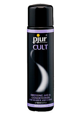 Pjur Cult Latex Dressing Aid and Latex / Rubber Conditioner 100ml