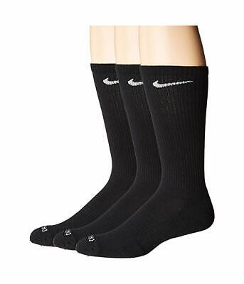 Nike Men's Dri-Fit Cushioned Crew Socks 3 Pair Pack XL Extended Shoe Size 12-15