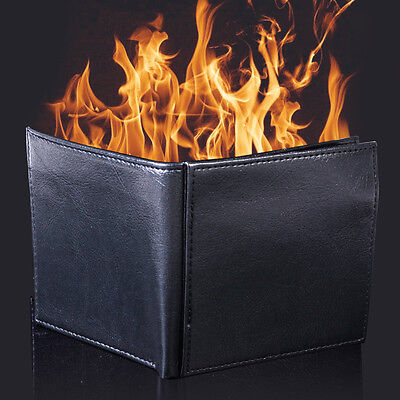 11.4 x 10.1 x 1.5cm trick Brieftasche Magie Brieftasche Geldbörse Flaming Wallet
