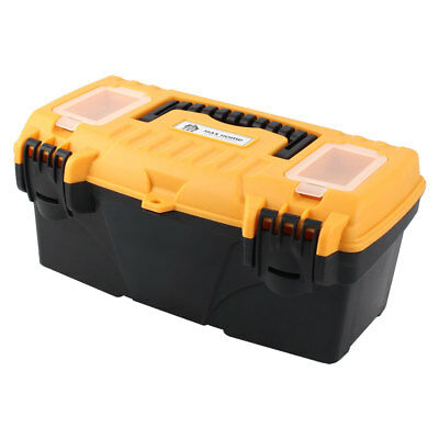 Electrician Engineer Plastic Dual Layers Tools Hardware Storage Box Case
