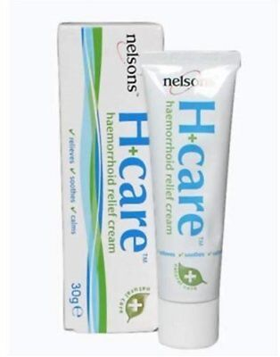 Nelson's H+care Haemorrhoid Relief Cream - 30g