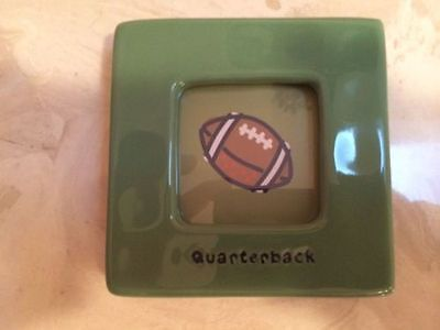 LIFE IS GOOD Quarterback Football Baby Picture Frame