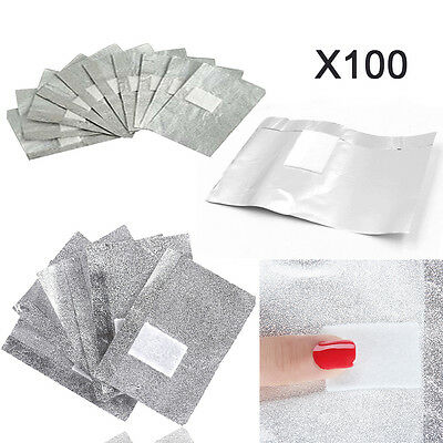 Nail Foil Gel Wraps Polish Remover Art Soak Off Acrylic Acrylic Removal