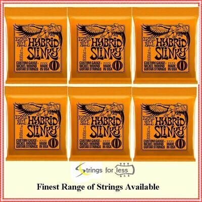 Ernie ball 2222 Hybrid Slinky Electric guitar strings Gauge 9- 46  -  6-Sets