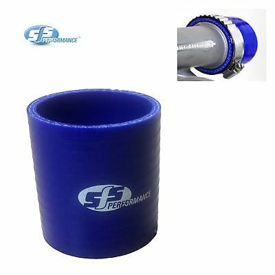 "SFS 2.5"" Blue Silicone Straight Coupling Connector 63mm Turbo Intercooler Hose"