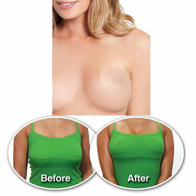 10x Breast Lift Tap Shaping Invisible Push Up Stick On Bra UK Fast & Free Flower