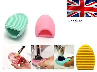 MAKEUP BRUSH CLEANER Egg Glove Scrubber, cosmetic cleaner