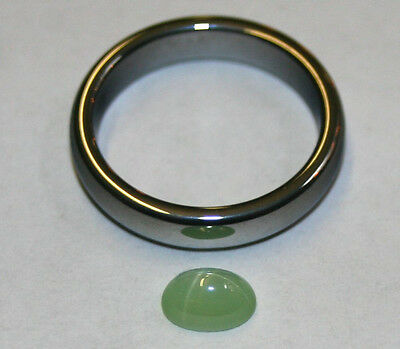 Lab Grown Olive Green Star Sapphire Loose Gemstone 5X7 Oval 1.2Ct Gem Sa57
