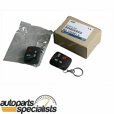 2 x Genuine Ford BA BF Falcon Central Locking Door + Boot 4 Button Remote Key