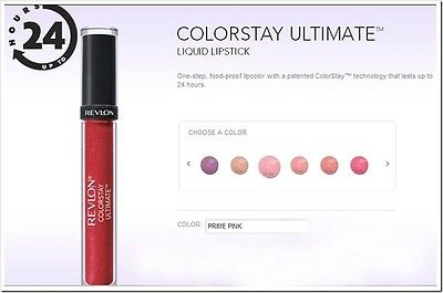 Revlon ColorStay ULTIMATE Liquid Lipstick * PICK THE ONE YOU LIKE from 10 COLORS