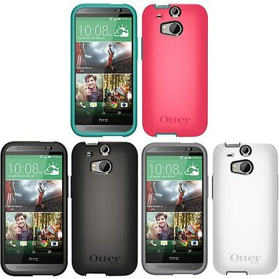 Otterbox Symmetry Series Protective Case for HTC One (M8), 100% Authentic, NEW
