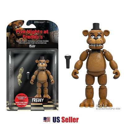 """Funko Five Nights at Freddy's Articulated Action Figure 5"""" : Freddy"""