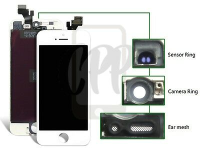 New Replacement Touch Screen LCD Digitizer Assembly For iPhone 5 5G White