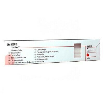 3M ESPE  Sof-Lex Dental Finishing Strips Coarse/Medium 1954 Box of 150
