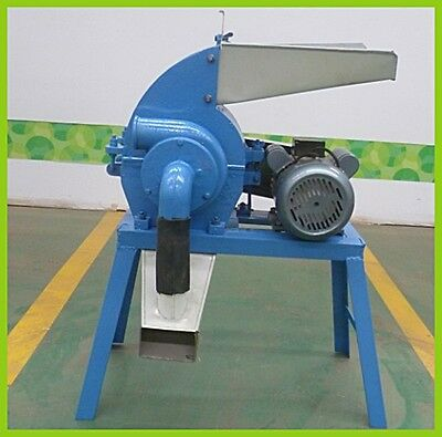 Hammer Mill 1.5Kw 3 Phase Electric Engine - Usa Stock