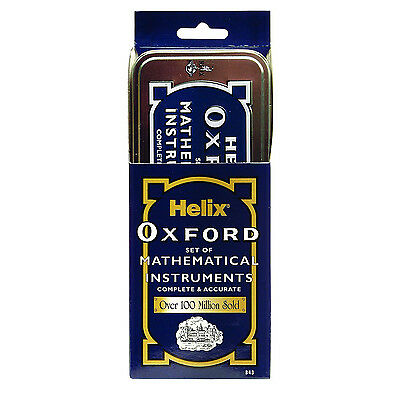 Helix Oxford Maths Geometry Class Back To School Supplies Stationery Kit Sets