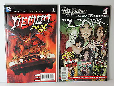 DC COMICS Presents The Demon Driven Out and New 52 The Dark Issues Lot