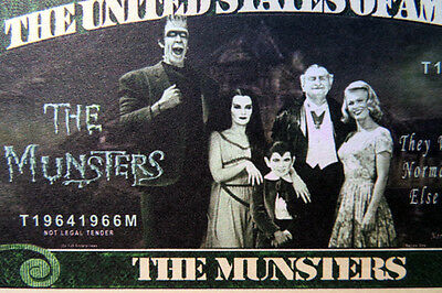 The Munsters FREE SHIPPING! Million-dollar novelty bill