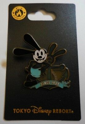 Disney Pin Japan TDL Oswald with Anchor New