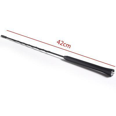"Universal 16"" Roof Mast Radio Whip Aerial Antenna Fit For Different Car"