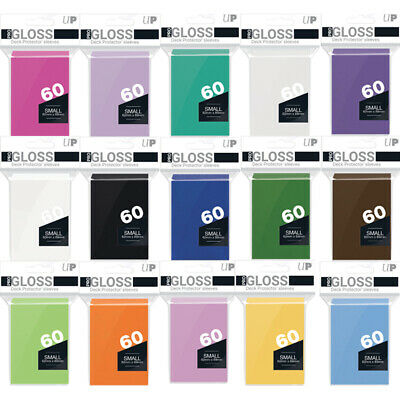 Ultra Pro Small Trading Card Sleeves - Deck Protectors - Yugioh Size 60 Per Pack