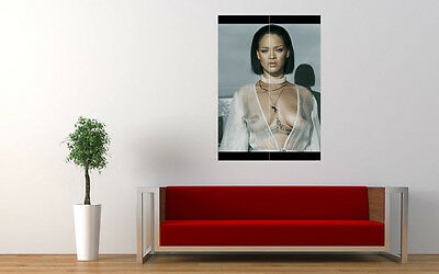 Rihanna 4 Sexy Celebrity Singer Giant Large Art Print Poster Picture