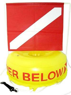 Storm Surface Marker with Flag for Scuba Diving or Snorkeling
