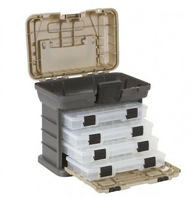 Plano Molding 1354 Stow N Go Tool Box with 4 23500 Series StowAways, Graphite
