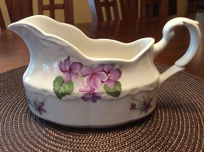 Sterling Colonial Vtg English Ironstone J&G Meakin Pottery England Gravy Boat