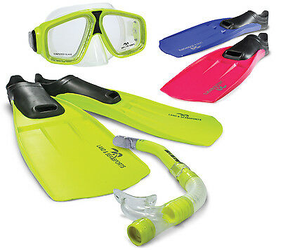 Land & Sea Adventurer Kids and Adults Flippers Snorkel Mask sets for Snorkelling