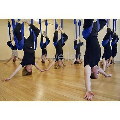Inversion Therapy Aerial Yoga Hammock Swing Pilates Fitness High Strength