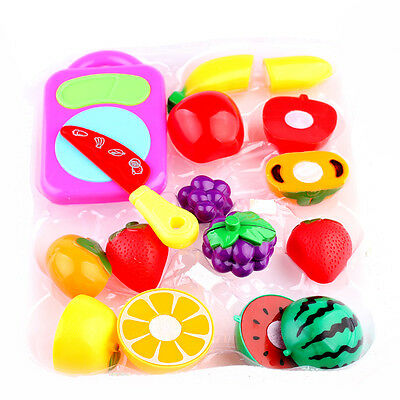 Fruit And Vegetable Box Set Toy Food Role Play Toy Fun Pretend Play Kids Gifts