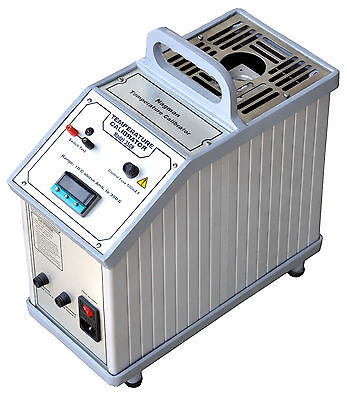 Portable Dry Block Low Temperature Calibrator up to 350 Deg C