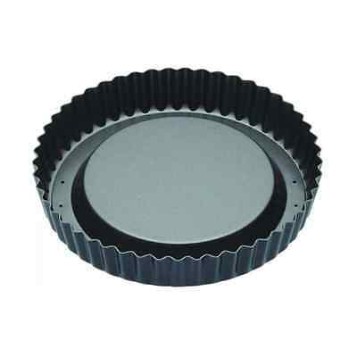 """Master Class Non-Stick Raised Fluted Sponge Flan Tin With Loose Base, 20 cm (8"""")"""