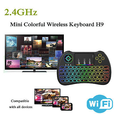 I8 Keyboard Fly 2.4 GHz Wireless Remote Control for KODI Android TV BOX Backlit