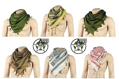 Plo Shemagh Palestinian Scarf Cloth Head Pali Neckerchief in various colours