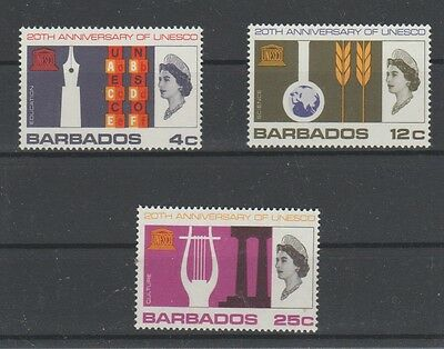 v420  Barbados/ UNESCO   MiNr  259/61 *
