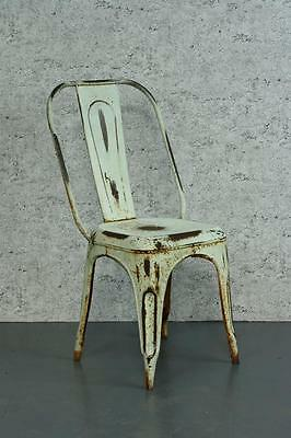 VINTAGE INDUSTRIAL AC TOLIX FRENCH CAFE CHAIR 1920s #1785
