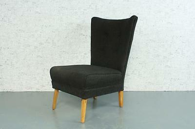 VINTAGE HOWARD KEITH 1950s COCKTAIL ARM CHAIR RETRO MIDCENTURY #1790